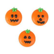 pumpkin rounds royal icing decorations bulk caljavaonline