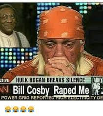 Funny Bill Cosby Memes - usive hulk hogan breaks silence larry iong bill cosby raped me de