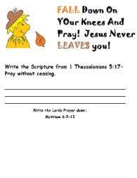 32 best sunday school thanksgiving fall images on