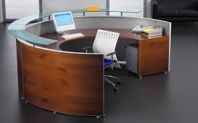 White Curved Reception Desk Reception Desks Uk Mood Straight Reception Desk Available In