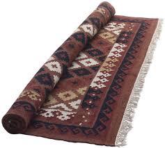 carpet area rug in maroon with tassels u2013 hand woven floor carpet