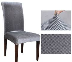 housse de chaise universal fashion high back spandex elastic chair cover dining