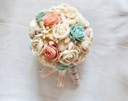 seashell bouquet shell bouquet etsy