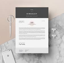 resume template us letter a4 cv template cover letter by digitalcv