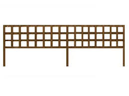 Metal Garden Trellis Uk Brown Treated Long Batten Straight Heavy Duty Standard 4