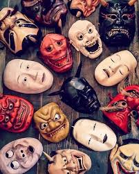 vintage masks we sell a lot of vintage masks picture of maiko antiques kyoto