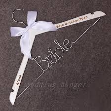 date gifts wedding date hanger wedding wire hanger custom date initials