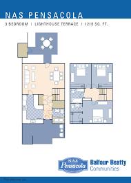 nas pensacola u2013 lighthouse terrace neighborhood 3 bedroom