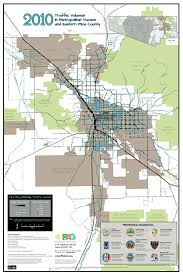 Tucson Arizona Map by Historic Adt Maps