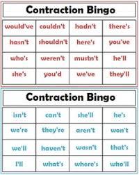contractions worksheet 1st grade pinterest worksheets