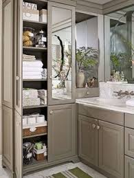 Cabinets For Small Bathrooms by Bathroom Linen Cabinet With Hamper For Small Bathroom Bathroom