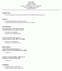 resume setup exles how to set up a resume resume setup exles jobsxs