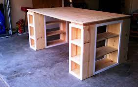 diy craft desk with storage best home furniture decoration