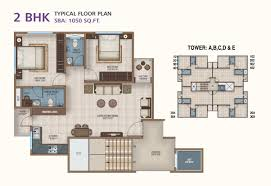 typical floor plan ananta builders