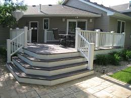 Corner Deck Stairs Design Endearing Deck Corner Stairs Design Marvelous Corner Deck Stairs 4