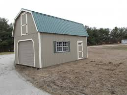 14x24 two story gambrel barn garage lp in york pa pine creek