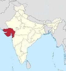 Map India Gujarat Map India