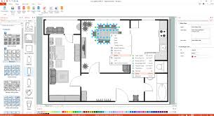 Floor Plan Flat by Basic Floor Plans Solution Conceptdraw Com