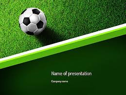 soccer powerpoint template free sports powerpoint templates design