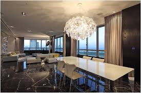 new contemporary crystal dining room chandeliers good home design