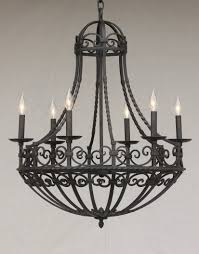 Colonial Chandelier Lights Of Tuscany 1265 6 Spanish Revival Spanish Colonial Chandelier