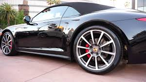 black porsche convertible 2013 porsche 911 carrera 4s 991 cabriolet triple black 20 carrera