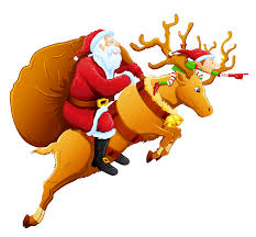 santa and reindeer png clipart gallery yopriceville high