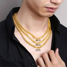 necklace gold man images Usd 4974 84 kinliford gold necklace man thailand leader chain 999 jpg