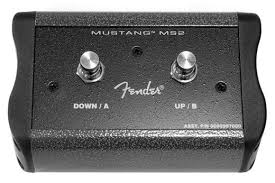 fender mustang 2 footswitch fender 008 0997 000 2 button footswitch for mustang iii iv v