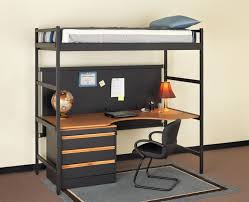cool mixing work with pleasure loft beds with desks underneath
