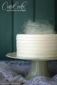 Carrot Decoration For Cake Recipe Carrot Cake With Spun Sugar Nest