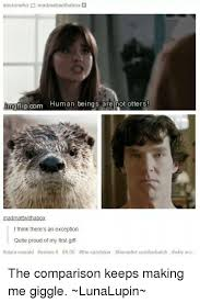 Benedict Cumberbatch Otter Meme - box doctorwho mad mattwitha bungflipcom human beings are not otters