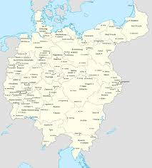 East Germany Map by Cities Of Greater Germany By Lehnaru On Deviantart