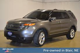 pre owned 2013 ford explorer limited suv in blair 37433c sid