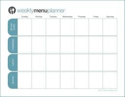 menu planners templates 21 free menu planner template word excel formats