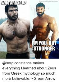 Justice League Meme - youp i m you but stronger makes everything i learned about zeus