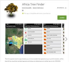 icraf geoscience lab launches new android app africa tree finder