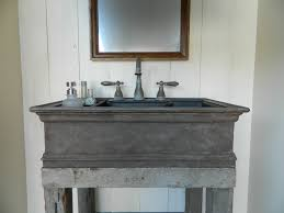 Concrete Bathroom Sink by 8 U0027 Cast Iron Style Concrete Vessel Sink
