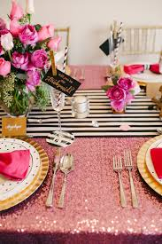 a chic and swanky kate spade inspired dinner party the perfect