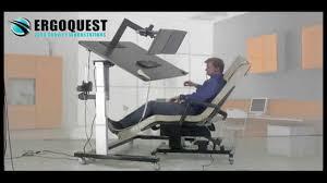 zero gravity chair and ergonomic desk youtube