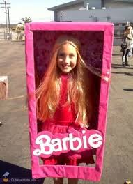 Homemade Cabbage Patch Kid Halloween Costume Homemade Seattle Barbie Box Halloween Costume Halloween