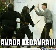 Swat Meme - avada kedavra s w a t team by ted willette 9 meme center