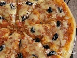 samira cuisine pizza pizza aux trois fromages fati