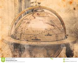 Personal World Map by Vintage World Map Stock Photo Image 21792670