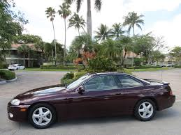 lexus sc300 value stunning 1998 lexus sc300 coupe 1 owner leather moon ruby red