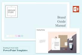 branding u0026 style guide templates presentation templates