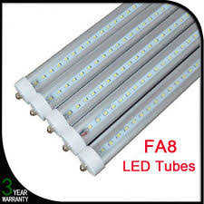 8 Foot Led Tube Lights T8 Fluorescent Tube Light Bulbs Ebay