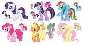 my pony friendship is magic set 7 removable wall