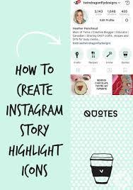 tutorial membuat instagram in my hand how to create instagram story highlight covers