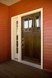 Steel Clad Exterior Doors Exterior Doors A Snappy Entry With An White Clad